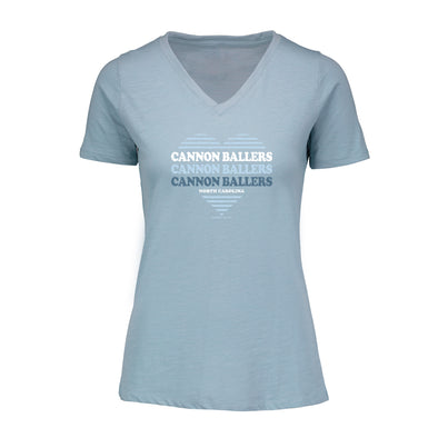 Women's Heart V-Neck Tee