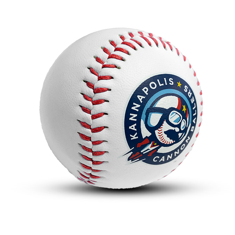 White Novelty Baseball