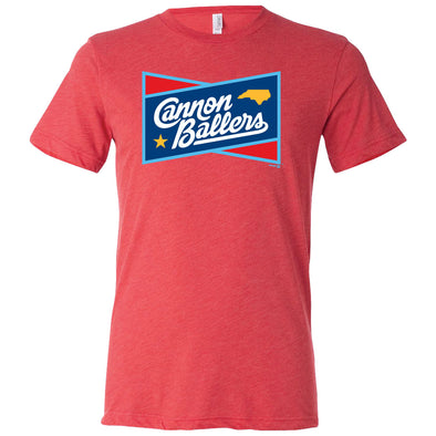 Red Cannon Ballers Rundown Tee