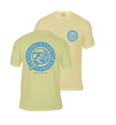 Golden Roundel Repeat Tee