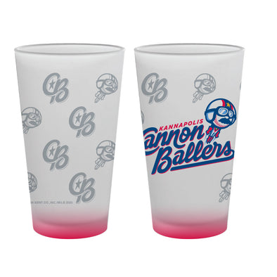 Cannon Ballers Pint Glass