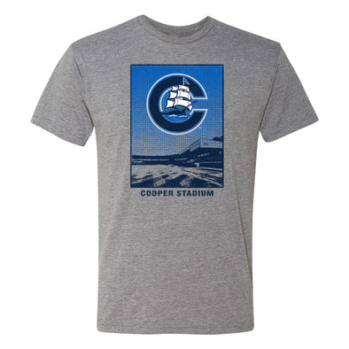 Columbus Clippers 108 Stitches Cooper Stadium Tee