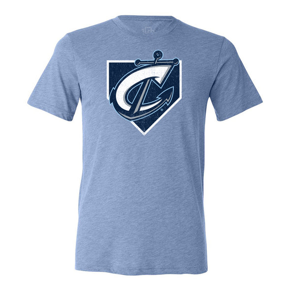 Columbus Clippers 108 Stitches Youth Home Plate Tee
