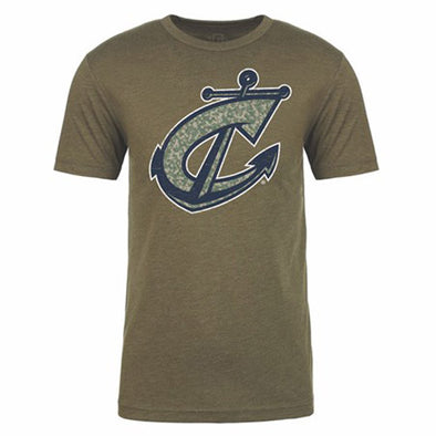Columbus Clippers 108 Stitches Camo Tee