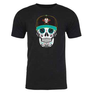 Columbus Clippers 108 Stitches Sugar Skull Tee