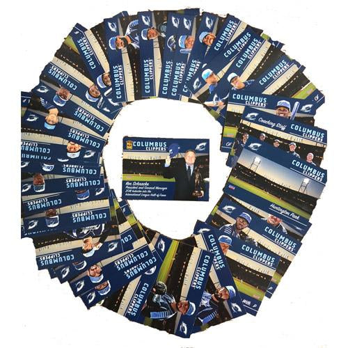 Columbus Clippers 2018 Team Card Set, Columbus Clippers