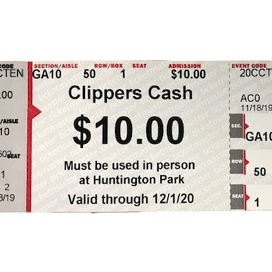 Columbus Clippers Cash