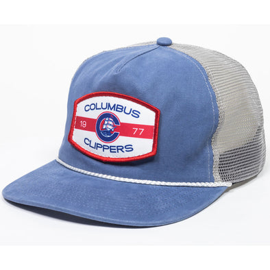 Columbus Clippers Outdoor Cap 90's Trucker Rope hat