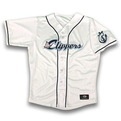 Columbus Clippers Home Jersey, Columbus Clippers