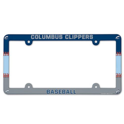 Columbus Clippers License Plate Frame
