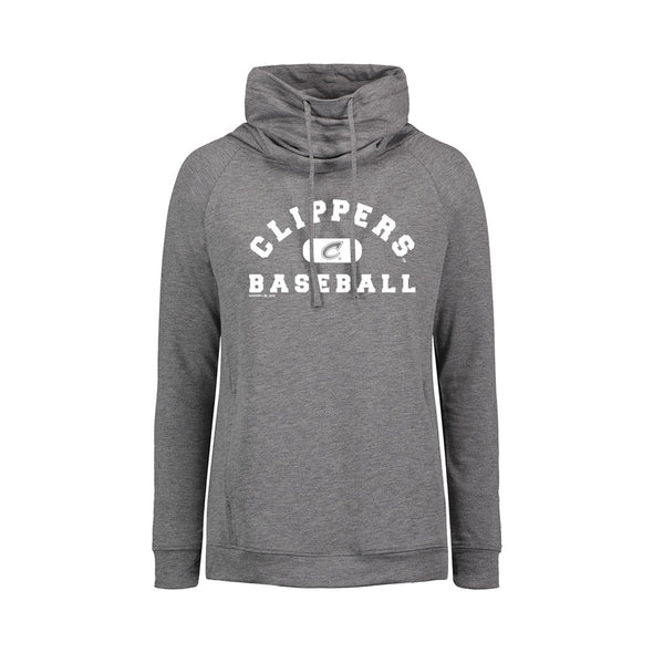 Columbus Clippers MV Sport Women's Heat Last Funnel Neck