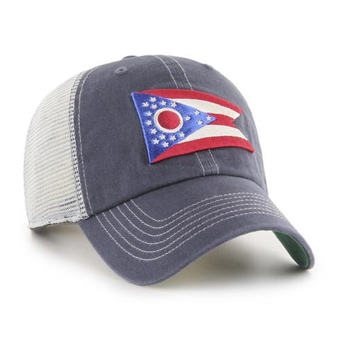 Columbus Clippers 47 Trawler Ohio Flag Clean Up