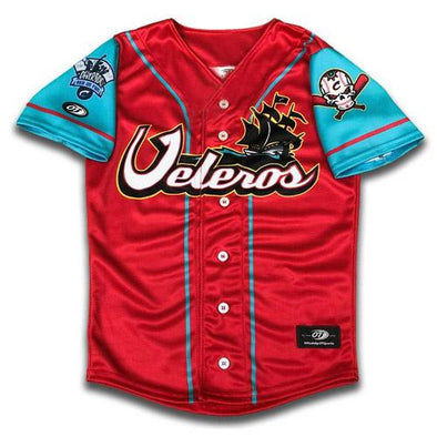 Columbus Clippers Los Veleros Jersey, Columbus Clippers