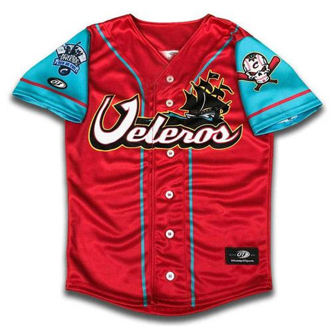 Columbus Clippers OT Sports Los Veleros Jersey
