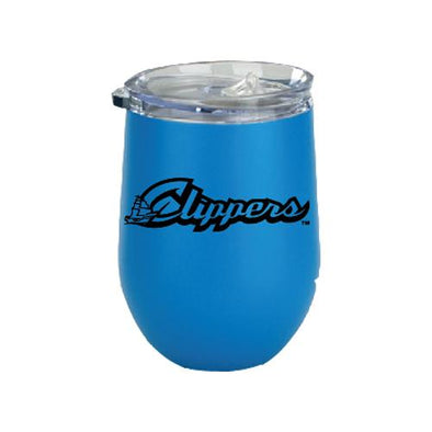Columbus Clippers Wine Glass Style Tumbler, Columbus Clippers