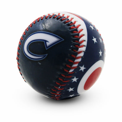 Columbus Clippers State Flag Baseball