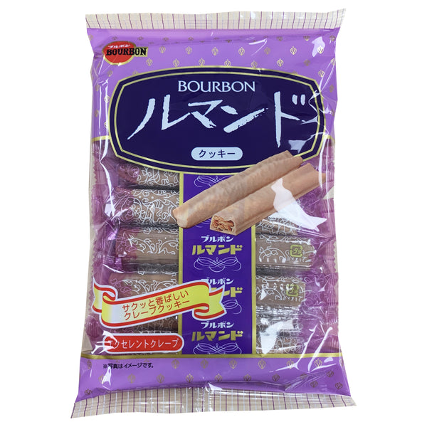 CLOSE OUT SPECIAL! Bourbon Lumonde Japan Cookies (box of 12)