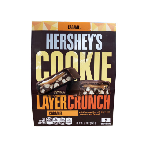 CLOSE OUT SPECIAL! Hershey's Caramel Cookie Layer Crunch (box of 8)