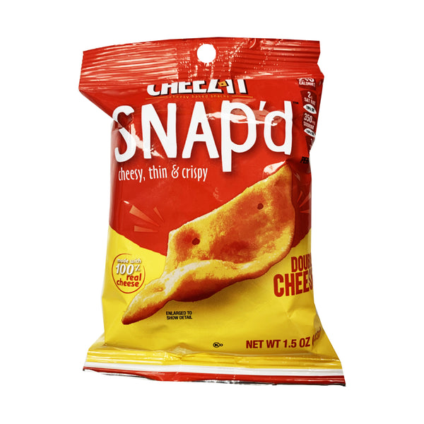 CLOSE OUT SPECIAL! Cheez-It Snap'd Double Cheese (box of 6)