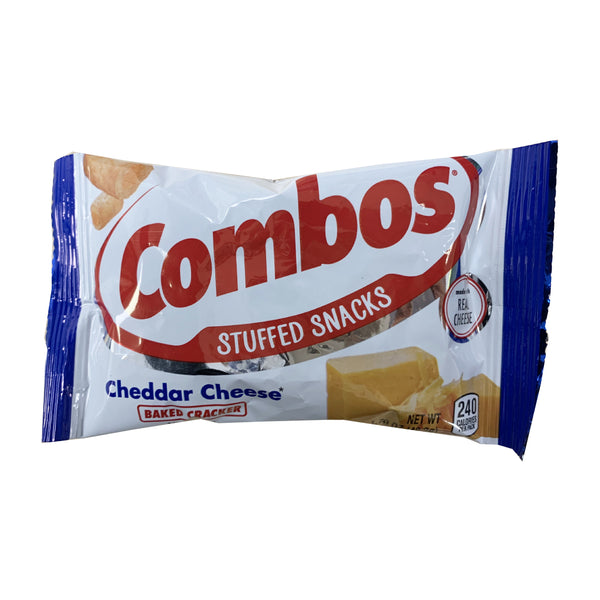 CLOSE OUT SPECIAL! Combos Stuffed Cheddar Cheese Baked Cracker (box of 18)