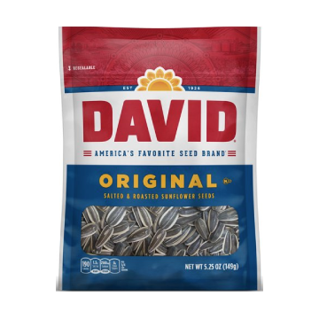 David's Jumbo Original Sunflower Seeds (case of 12)