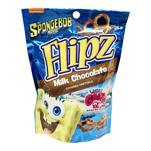 CLOSE OUT SPECIAL! Flipz Milk Chocolate Covered Pretzels (box of 6)