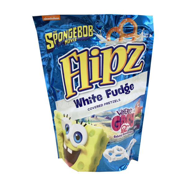 CLOSE OUT SPECIAL! Flipz White Fudge Covered Pretzels (box of 6)