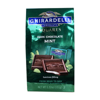 CLOSE OUT SPECIAL! Ghirardelli Dark Chocolate Mint Squares (box of 6 )