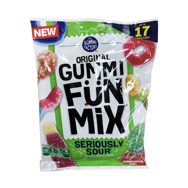 CLOSE OUT SPECIAL! Gummi Fun Mix Seriously Sour (box of 12)