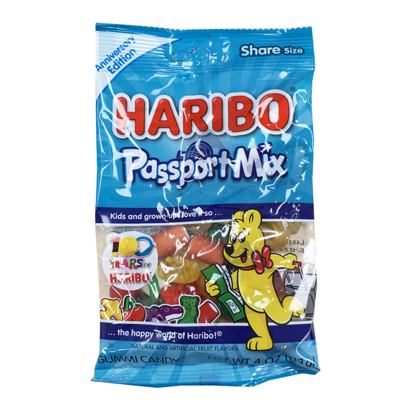 CLOSE OUT SPECIAL! Haribo Passport Mix (box of 12)