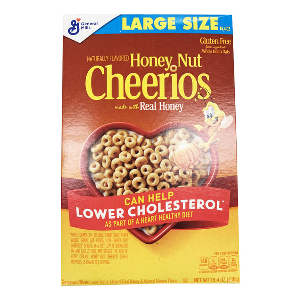 CLOSE OUT SPECIAL! Honey Nut Cheerios (1 box)