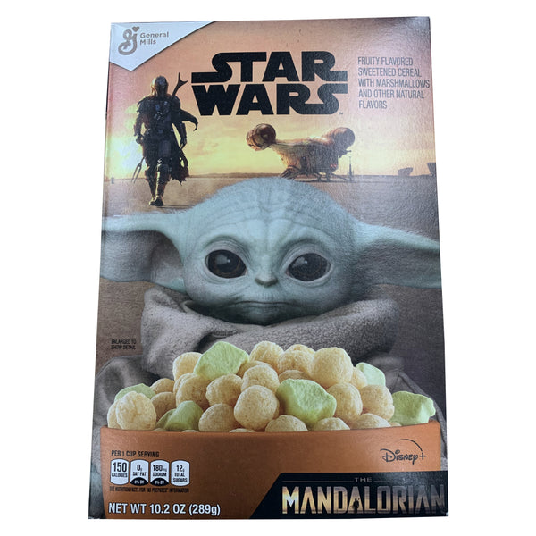 CLOSE OUT SPECIAL! Star Wars Mandalorian Cereal (1 box)