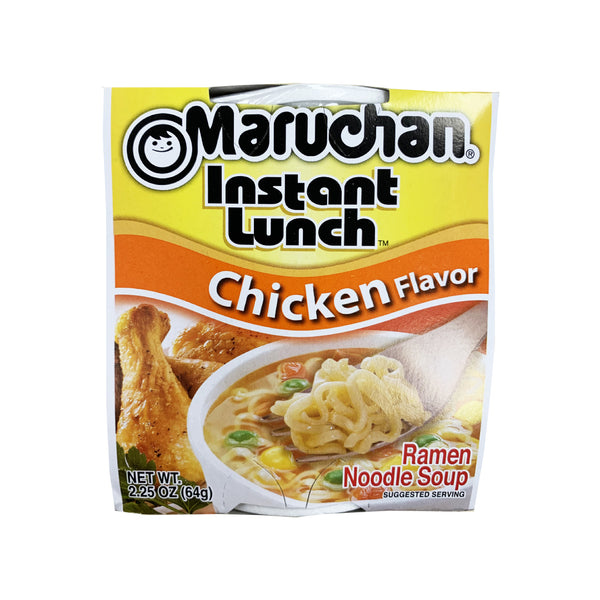 CLOSE OUT SPECIAL! Maruchan Instant Lunch Chicken flavor (box of 12)