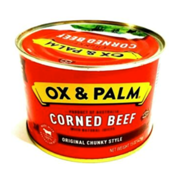 Ox & Palm Corned Beef (case of 24)