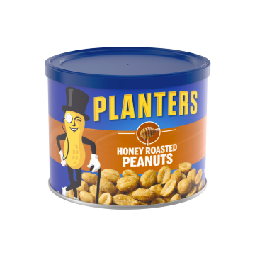Planter's Honey Roasted Peanuts Can (case of 12)