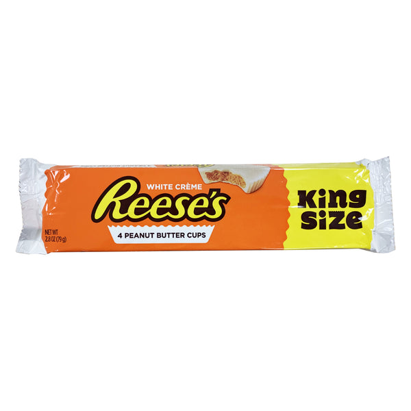 CLOSE OUT SPECIAL! Reese's Peanut Butter Cups White Creme (box of 18)