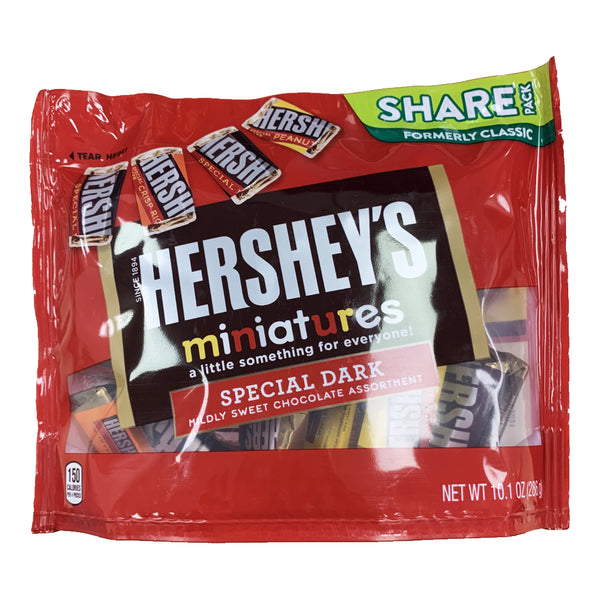 CLOSE OUT SPECIAL! Hershey's Special Dark Miniatures Share Pack (box of 8)