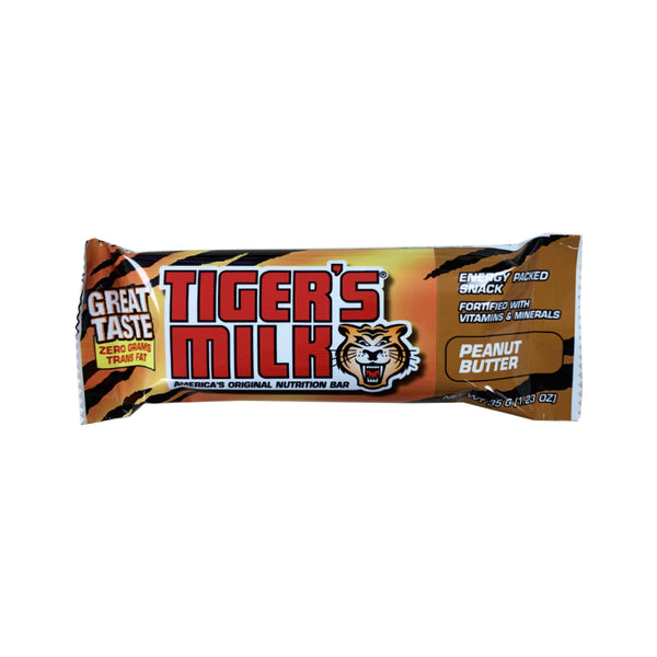 CLOSE OUT SPECIAL! Tiger's Milk Peanut Butter (box of 24)