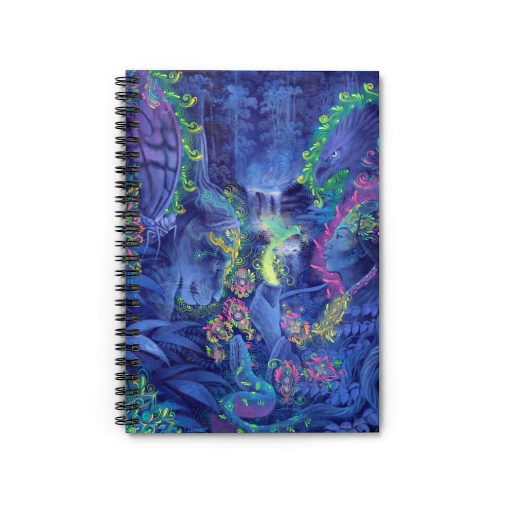 Indigo Twilight Spiral Notebook - Ruled Line