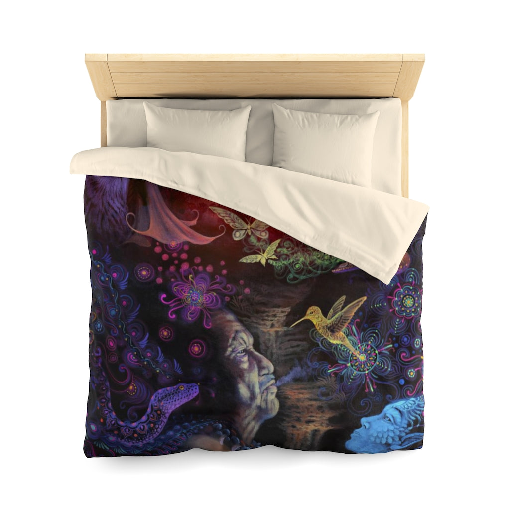 The Shaman - Microfiber Duvet Cover (Queen Size)