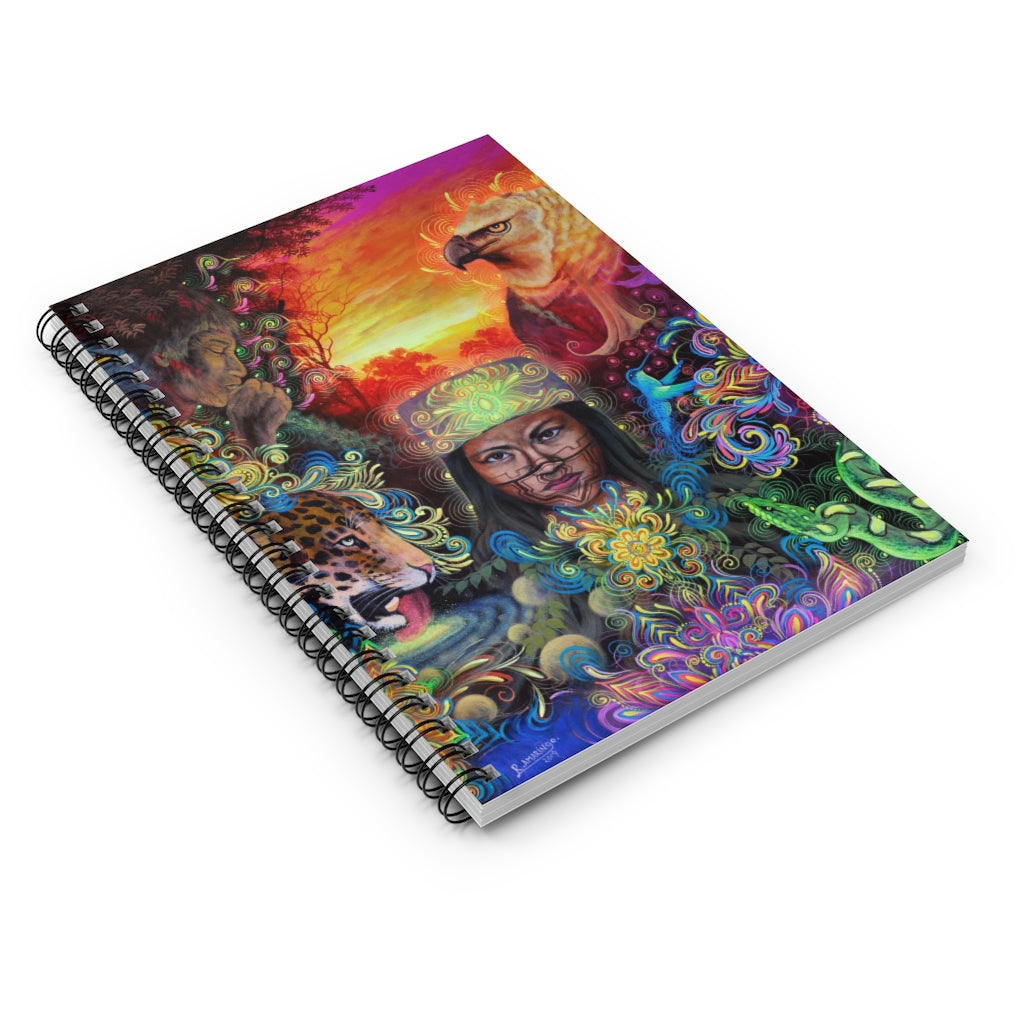 The Mystical Healer Spiral Notebook - Ruled Line