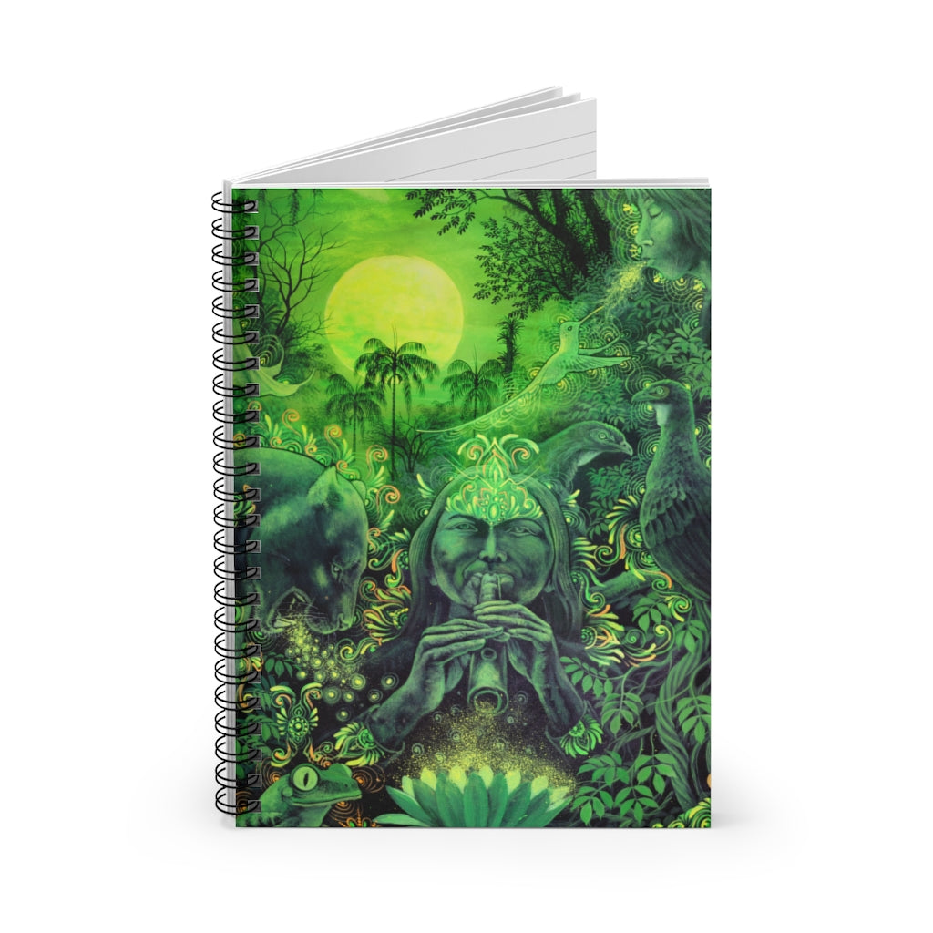 Jungle Melodies Spiral Notebook - Ruled Line