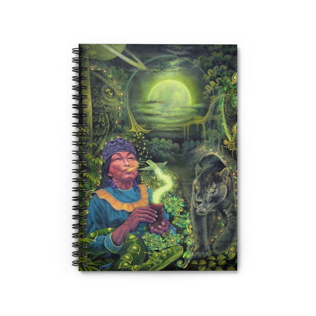 Moon Guidance Spiral Notebook - Ruled Line
