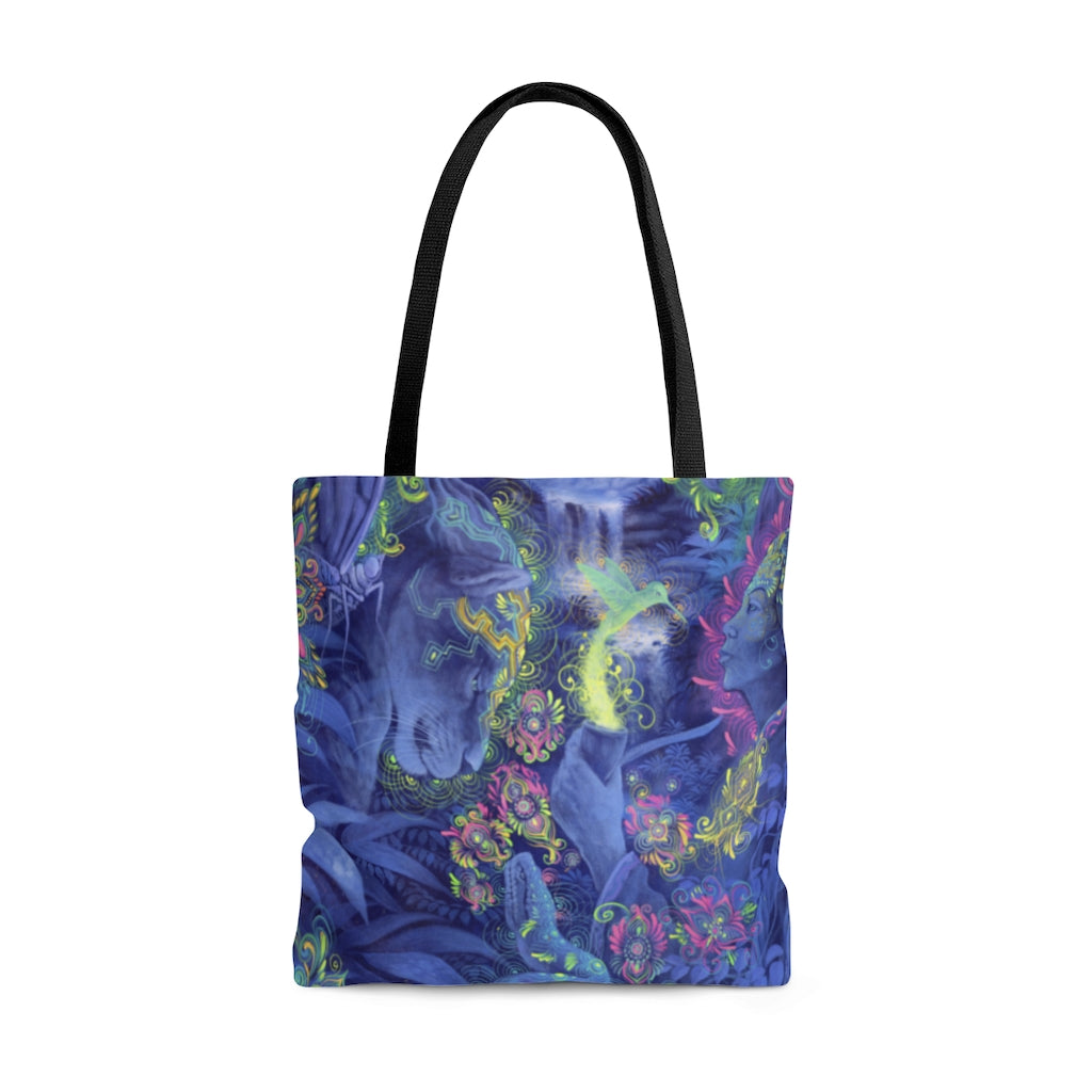 Indigo Twilight Tote Bag