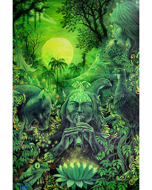 Lighten the Heart: Jungle Melodies Limited Edition Canvas Print