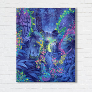 Indigo Twilight: Medicine Magic Limited Edition Canvas Print