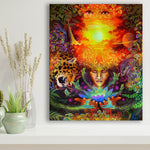 Inner Wisdom and Higher Guidance: Visions of the Jungle Limited Edition Canvas Print