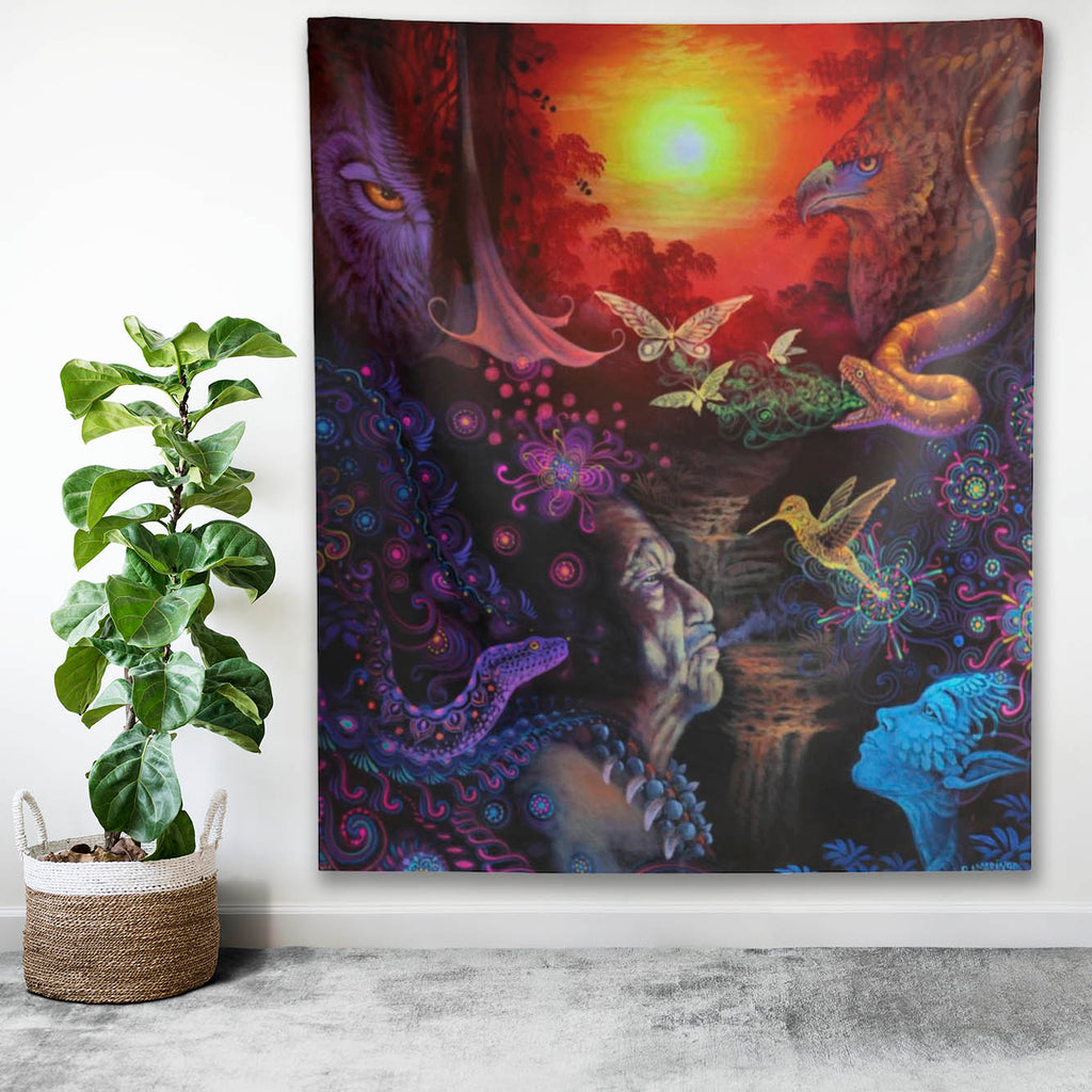 The Shaman Indoor Wall Tapestry