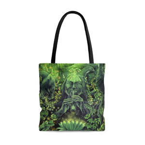 Jungle Melodies Tote Bag
