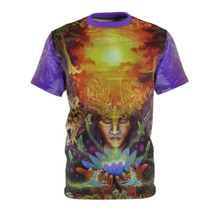 Visions of the Jungle Ayahuasca Vision All-Over Print Unisex Tee